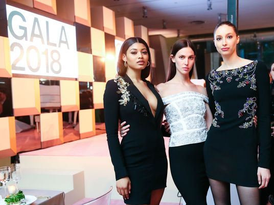 Whitney gala 2018   danielle herrington ruby aldridge alexandra agoston   courtesy of bfa angela pham